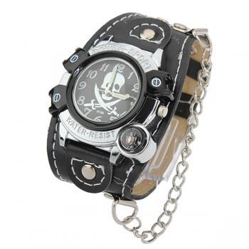 Fashion Skull Chain Wrist Watch